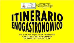 itinerario enogastronomico 2016